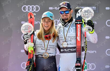 SHIFFRIN Mikaela<br>PARIS Dominik